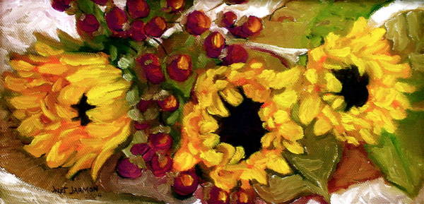 Painting - Sunflowers by Jeanette Jarmon