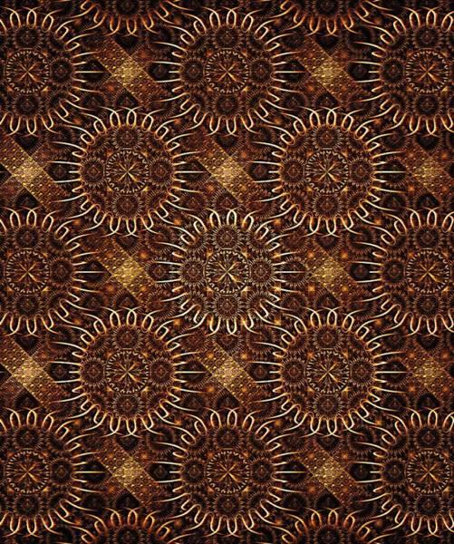 Digital Art - Sunflowers - Pattern - Fractal by Anastasiya Malakhova