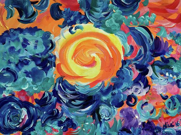 Painting - Sungate by Nicki La Rosa