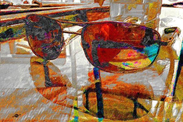 Painting - Sunglasses At Night by Tony Rubino