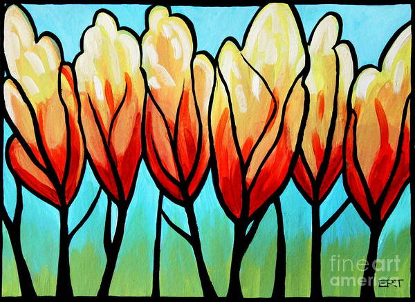 Painting - Sunglow  by Elizabeth Robinette Tyndall