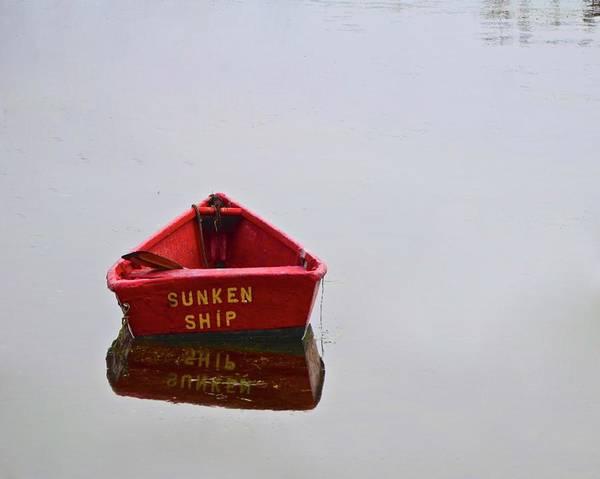 Tats Wall Art - Photograph - Sunken Ship by Corinne Rhode