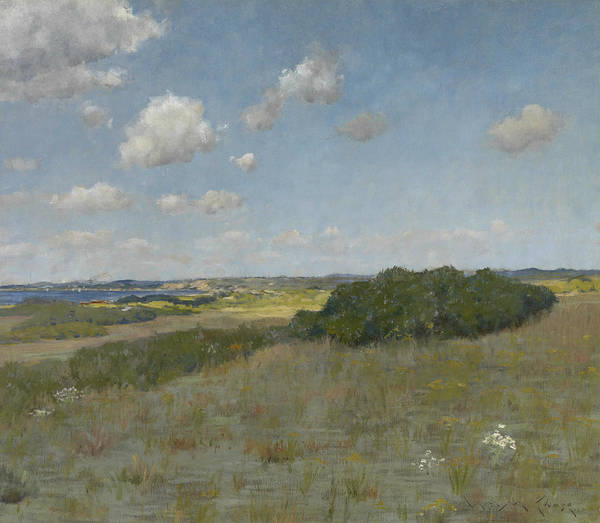 Painting - Sunlight And Shadow, Shinnecock Hills by William Merritt Chase