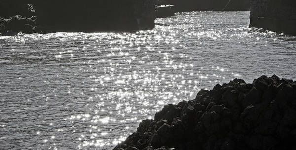 Photograph - Sunlight At Ballintoy Harbour by Colin Clarke