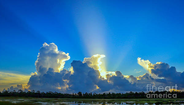 Photograph - Sunlight Breakthrough by Tom Claud