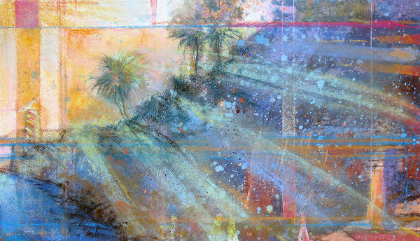 Painting - Sunlight Streaks by Andrew King
