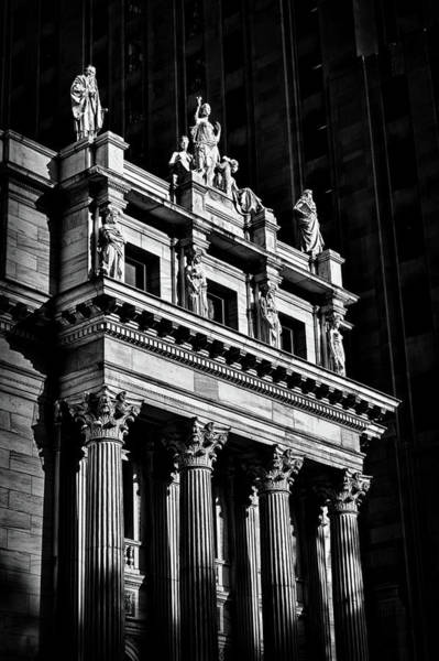 Photograph - Sunlit Building In Nyc. by Val Black Russian Tourchin