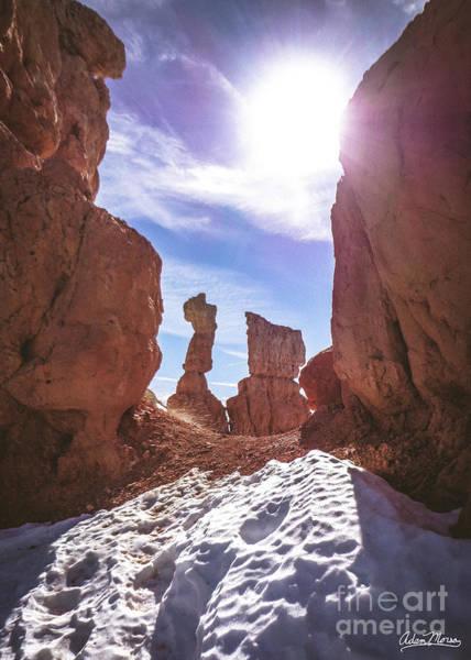 Photograph - Sunlit Gap by Adam Morsa