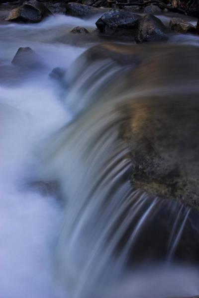 Wall Art - Photograph - Sunlit Water Bridalveil Creek by Jim Dohms