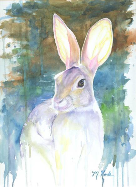 Sunny Bunny Art Print