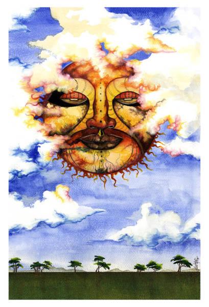 Sunny Mixed Media - Sunny Day by Anthony Burks Sr
