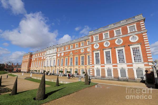 Photograph - Sunny Morning At Hampton Court Palace London by Julia Gavin