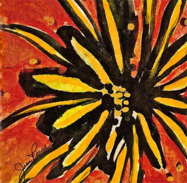 Painting - Sunny Hues Watercolor by Joan Reese