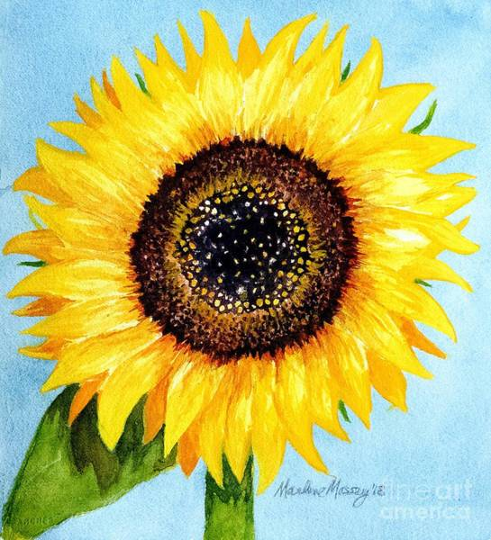 Painting - Sunny by Marlene Schwartz Massey