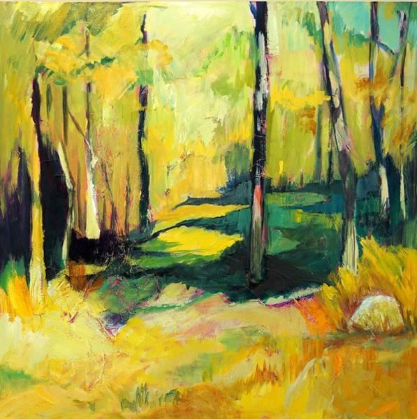 Painting - Sunny Meadow by Jillian Goldberg