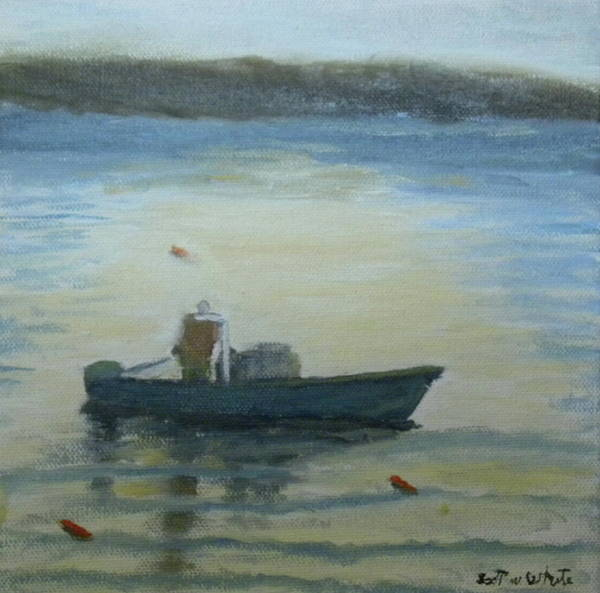 Painting - Sunny Morning And Lobster by Scott W White