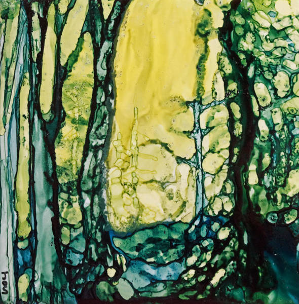 Painting - Sunny Path In The Forest by Joanne Smoley