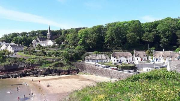 Dunmore East Photograph - Sunny Summer Sunday In Dunmore East  by Mary Morgan