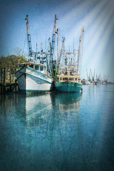 Photograph - Sunrays On The Harbor by Debra and Dave Vanderlaan