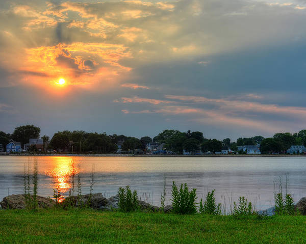 Photograph - Sunrays Over Collins Cove by Toby McGuire