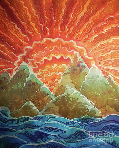 Arisen Painting - Sunrays by Sue Duda