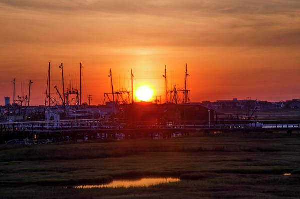 Wall Art - Photograph - Sunrise - 2 Mile Landing - Wildwood New Jersey by Bill Cannon