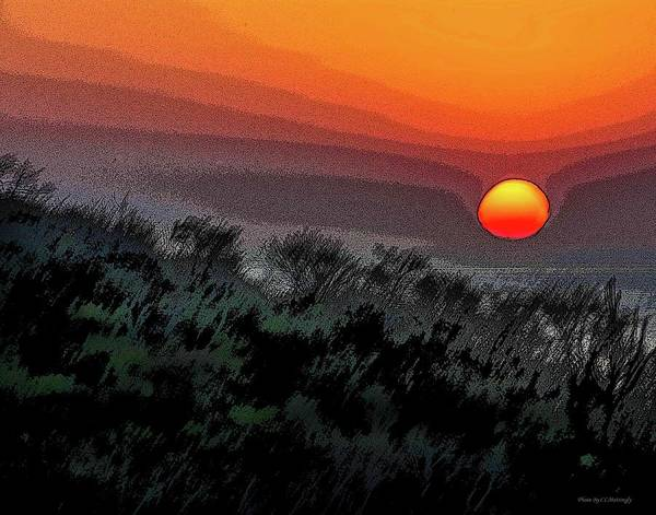 Photograph - Sunrise Abstract by Coleman Mattingly