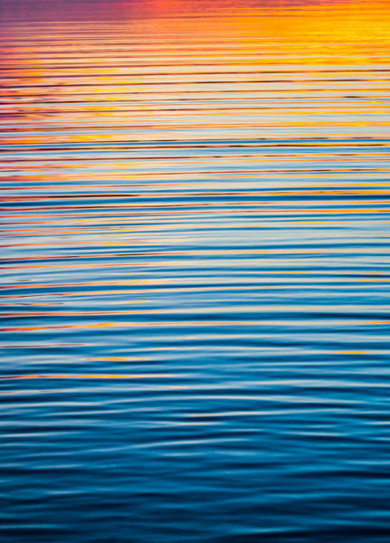 Photograph - Sunrise Abstract  by Parker Cunningham