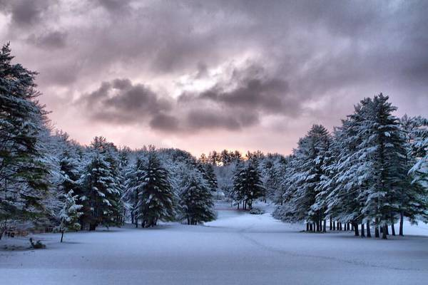 Photograph - Sunrise After The Snow  by Betty Pauwels