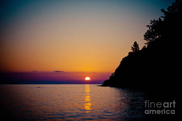 Photograph - Sunrise And Seascape by Raimond Klavins