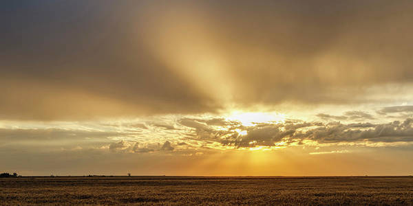 Photograph - Sunrise And Wheat 04 by Rob Graham