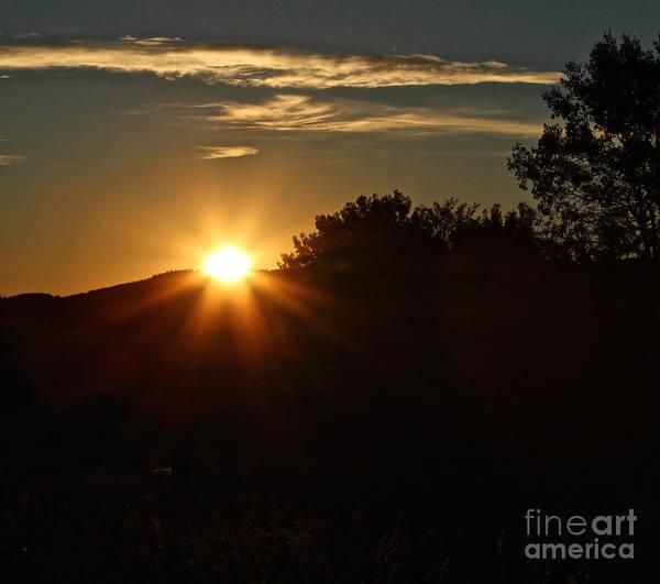 Photograph - Sunrise by Ann E Robson