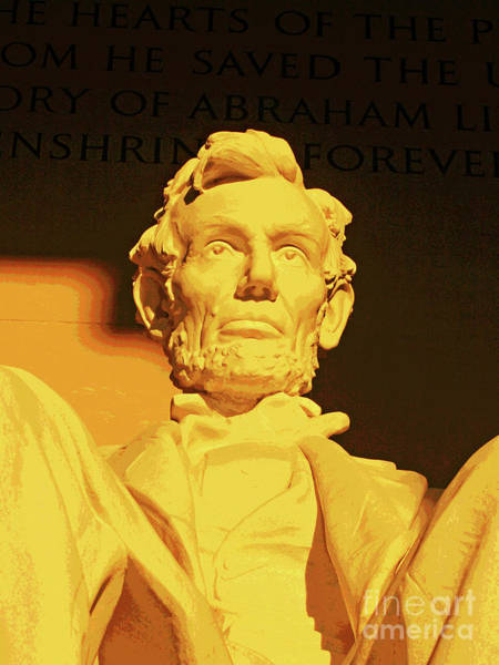 Photograph - Sunrise At Abraham Lincoln by Larry Oskin