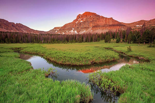 Stillwater Photograph - Sunrise At Amethyst Meadows. by Johnny Adolphson