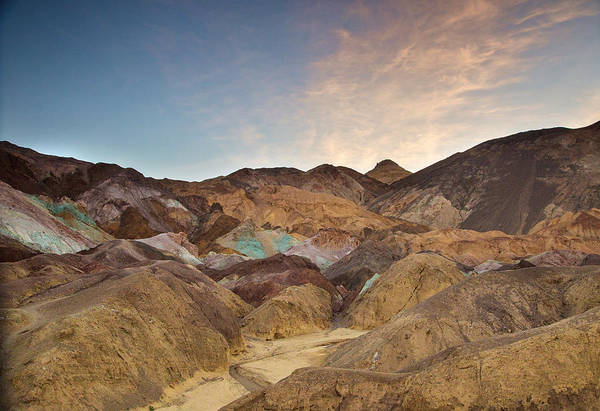 Death Valley Np Photograph - Sunrise At Artist's Palette by Kunal Mehra