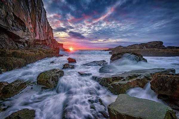 Wall Art - Photograph - Sunrise At Bald Head Cliff by Rick Berk