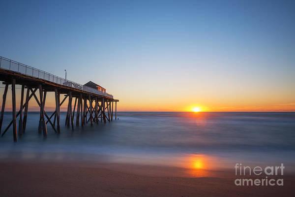 Mv Photograph - Sunrise At Belmar New Jersey by Michael Ver Sprill