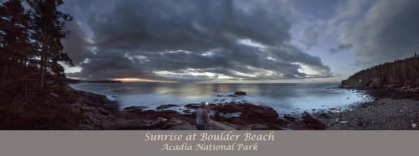 Photograph - Sunrise At Boulder Beach by John Meader
