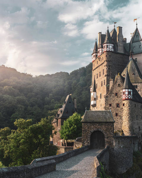 Sunrise At Castle Eltz, Germany Art Print