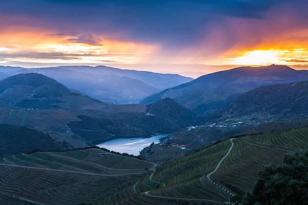 Montain Photograph - Sunrise At Douro by Mauricio Reis