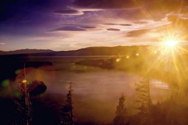 Photograph - Sunrise At Emerald Bay by Bryant Coffey
