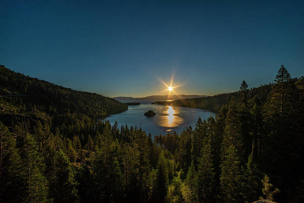 Photograph - Sunrise At Emerald Bay by Jonathan Hansen