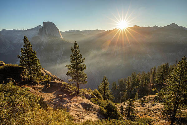 Wall Art - Photograph - Sunrise At Glacier Point by Davorin Mance