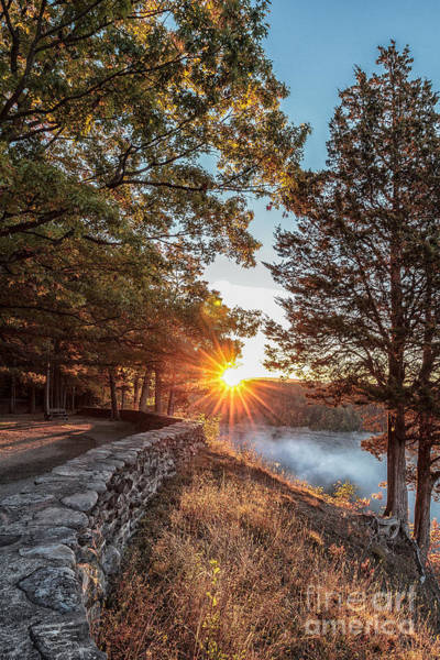 Photograph - Sunrise At Great Bend by Rod Best