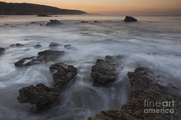 Photograph - Sunrise At Laguna Beach II by Keith Kapple