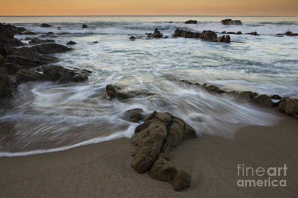 Wall Art - Photograph - Sunrise At Laguna Beach by Keith Kapple