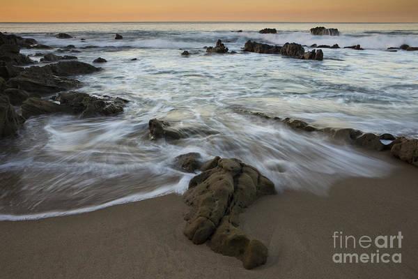 Photograph - Sunrise At Laguna Beach by Keith Kapple