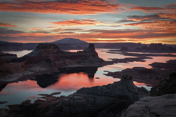 Photograph - Sunrise At Lake Powell by James Udall