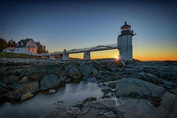 Marshall Point Lighthouse Photograph - Sunrise At Marshall Point by Rick Berk