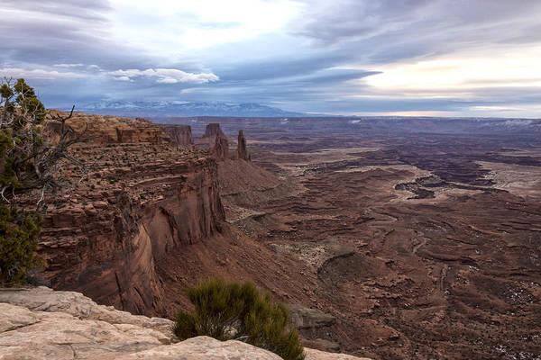Wall Art - Photograph - Sunrise At Mesa Arch - Canyonlands National Park - Moab Utah by Brian Harig